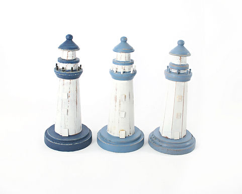 Small Wooden Lighthouse