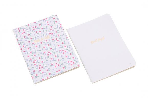 Set of 2 Slim Notebooks