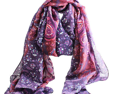 Pink & Purple Scarf