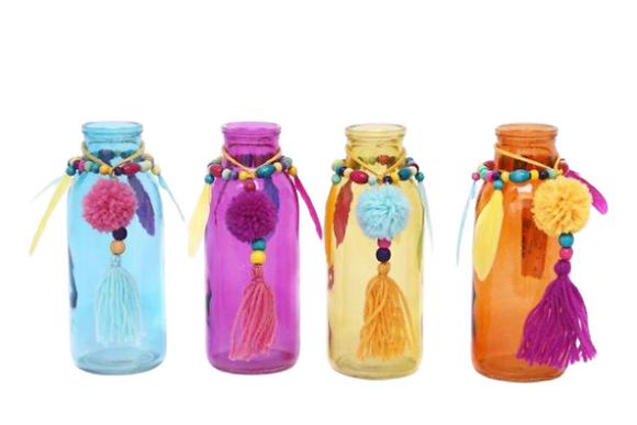 Pom Pom Tassle Bottle
