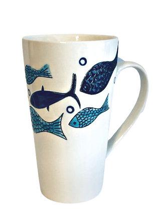 Tall Fish Mug