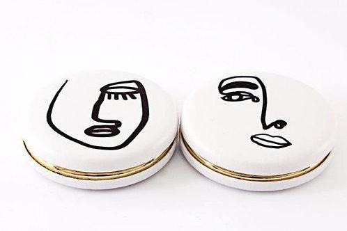 Doodle Handbag Mirror