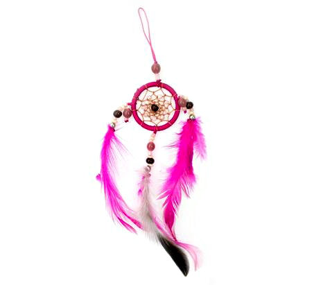 Small Fuscia Dreamcatcher