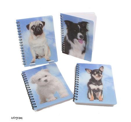 Hologram Dog Notebook