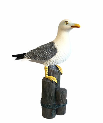 Large Resin Seagull