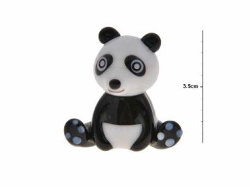 Small Glass Panda