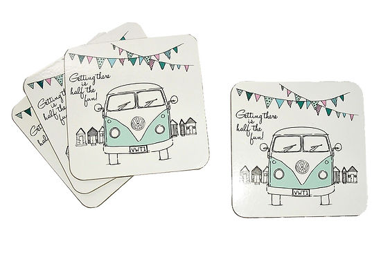 Set of 4 VW Coasters