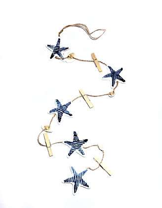 Starfish Mobile with Pegs