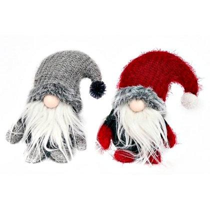 Knitted Fluffy Santa