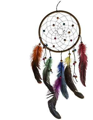 Multi Feather Dreamcatcher