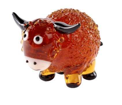 Glass Highland Cow