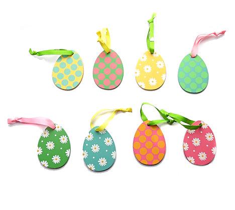 Flat Easter Egg Dec