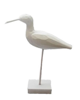 Wooden Seagull on Stand