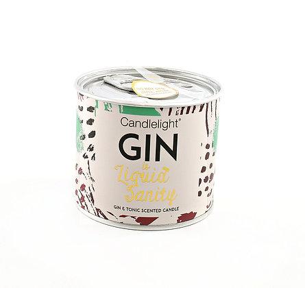 Candle Gin in a Tin