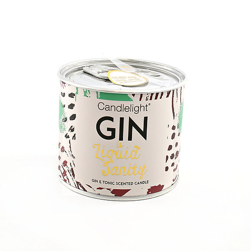 Candle Gin in a Tin