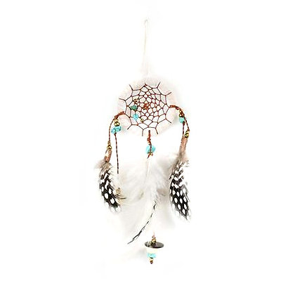 Small Dreamcatcher Turquoise Beads