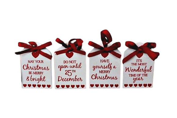 Christmas Wooden Tag