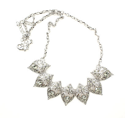 Filigree Leaf Necklace