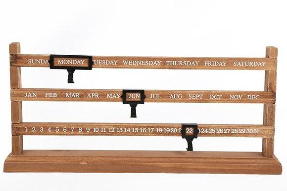 Sliding Bar Calendar