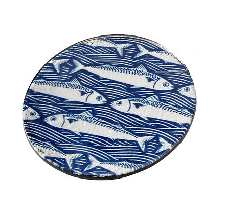 Glass Fish Coaster