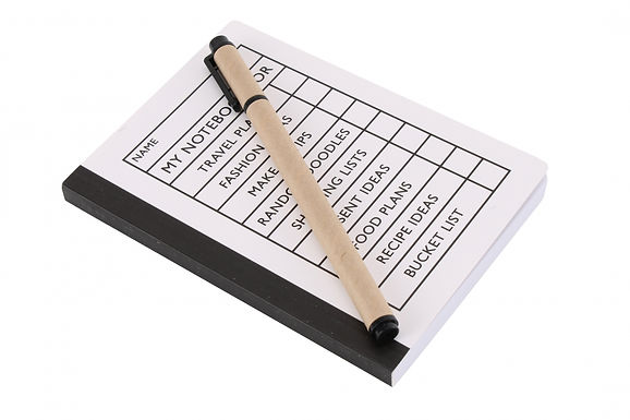 Tick the Box Notebook