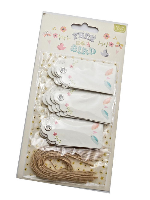 12 Bright Gift Tags
