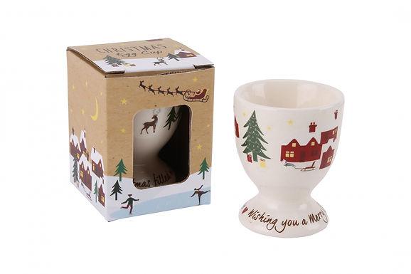 Christmas Egg Cup