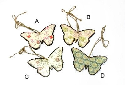 Wooden Hanging Butterfly
