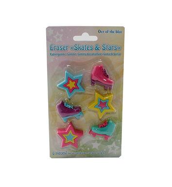 Skates & Stars Erasers