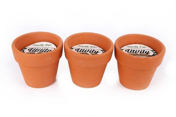 Scented Candle in Teracotta Pot