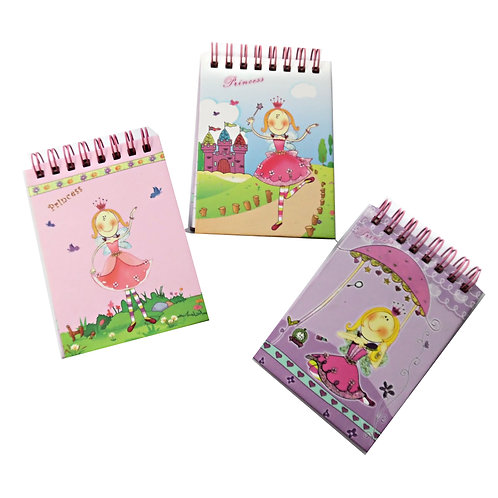 Mini Princess Notebook