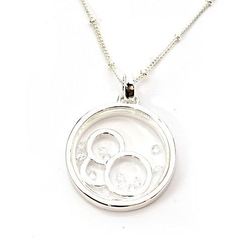 Diamante Circles Necklace