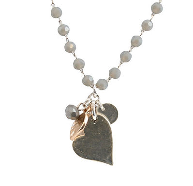 Bead And Charms Necklace