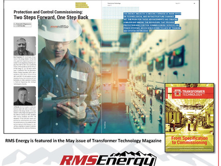 RMS Featured In Transformer Technology Magazine