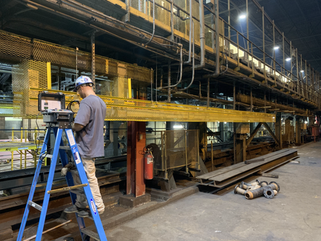 DC Bus Install at Steel Mill