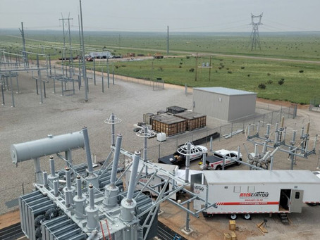 TRANSFORMER INSTALL IN NEW MEXICO