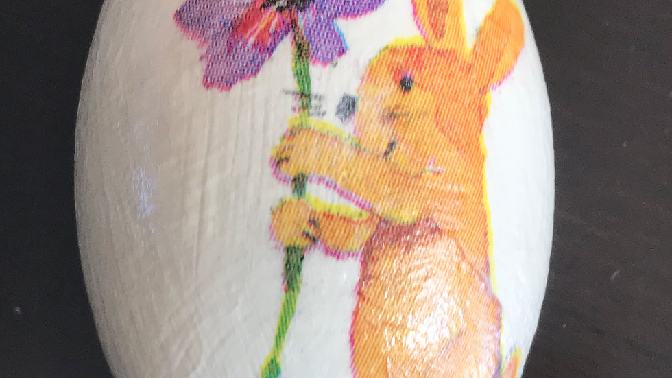 """Easter Bunny"" - Egg Ornament"