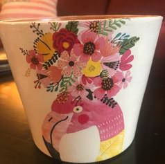 """Floral Flamingo"""