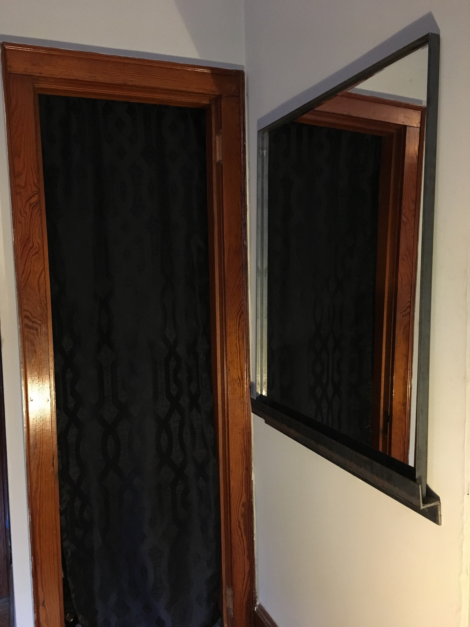 mirror frame/bracket