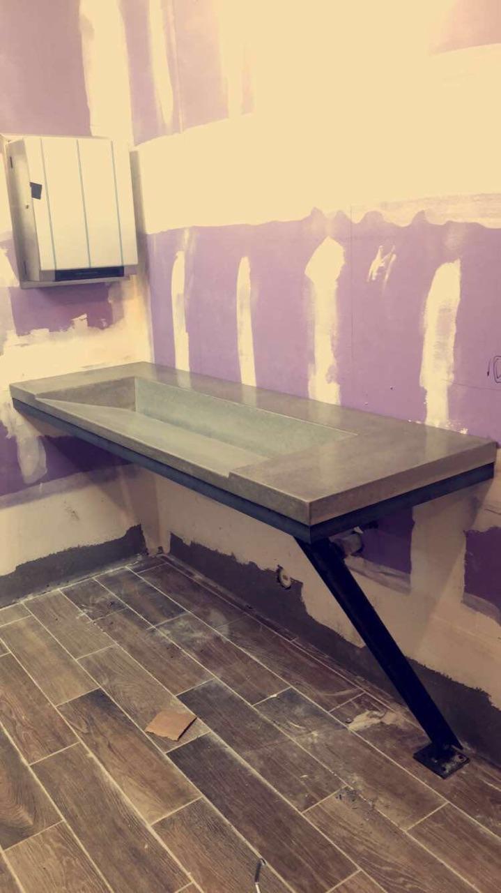 corner 16 ramp sink