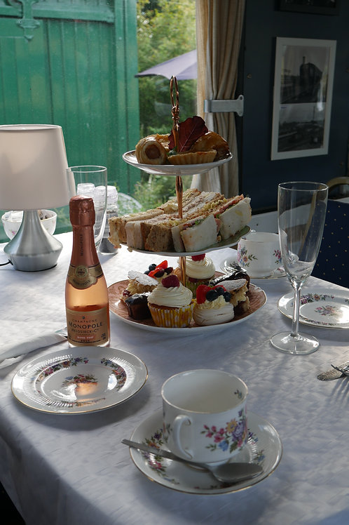 Champagne Afternoon Tea voucher for two