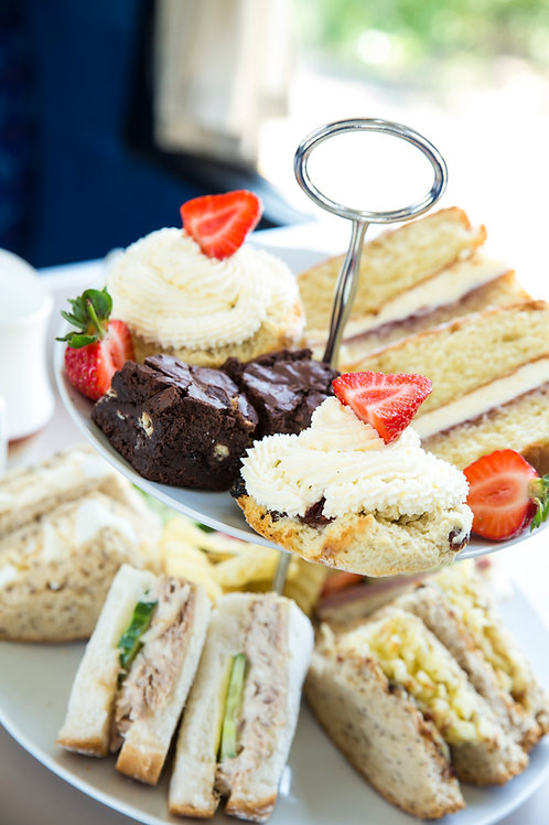 Carriages afternoon tea for one voucher