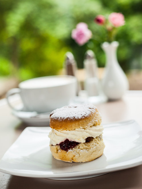 Cream Tea voucher for two