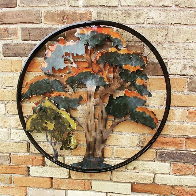 "28"" Multi Colour Circle Tree"