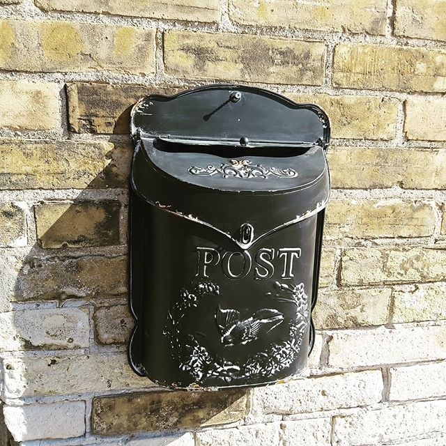 Fancy Metal Mailbox