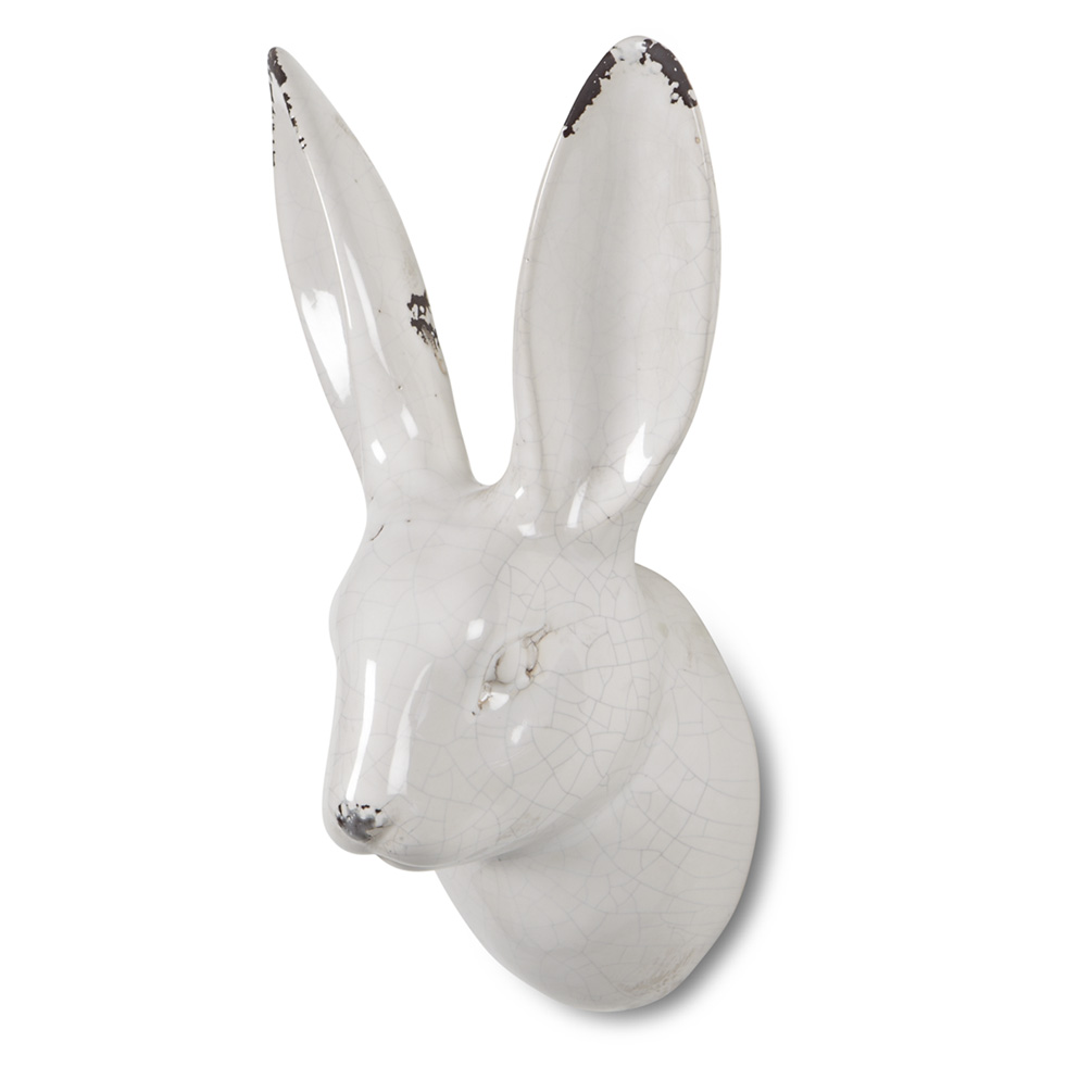 Ceramic Rabbit Head