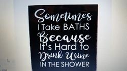 Wine In The Bath
