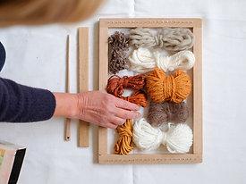Wandhanger weven - Thuispakket met online workshop