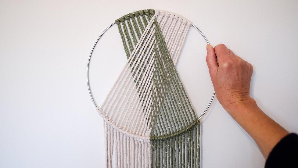 Geometrische wandhanger - Thuispakket met tutorial