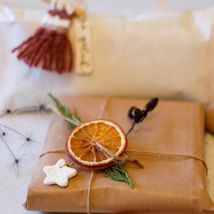 Online workshop - Versier je pakjes en kerstboom